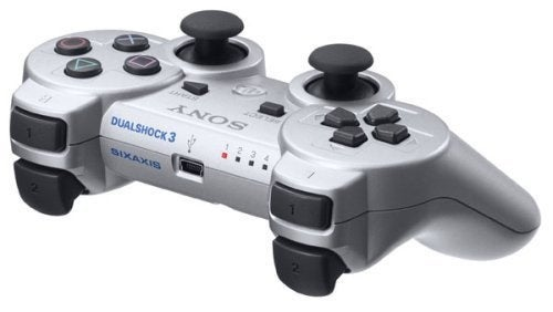 The DualShock3 Is Now Available in Silver, Oooohhhh