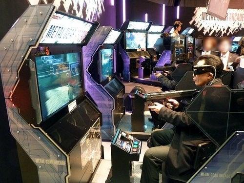 Metal Gear Arcade Lurches Out For Fresh Air