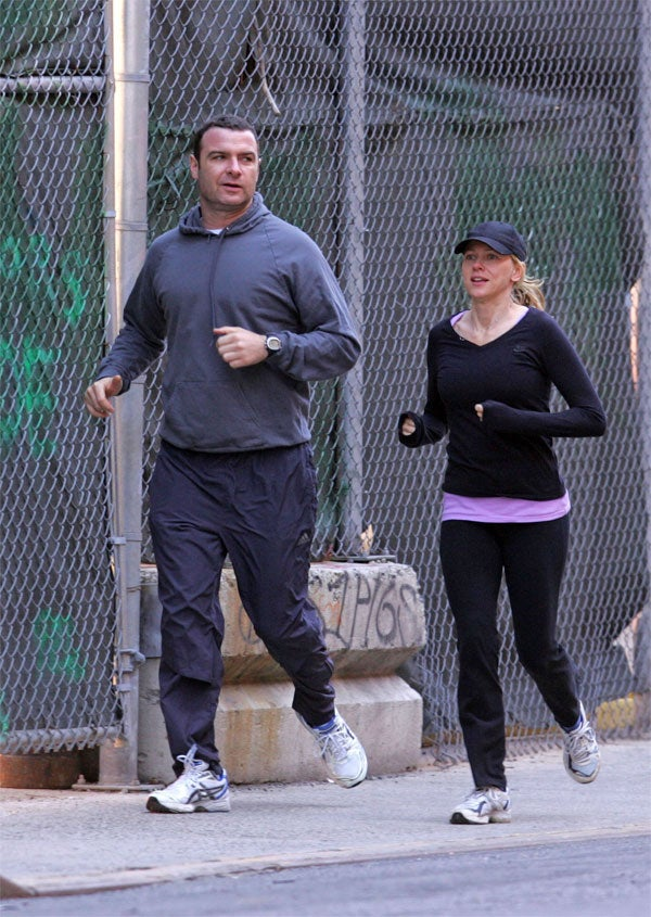 Naomi & Liev: The Couple That Jogs Together, _________s Together
