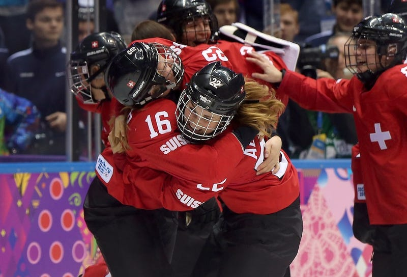 Swiss Women's Hockey Team Wins Bronze Thanks To This Empty Netter