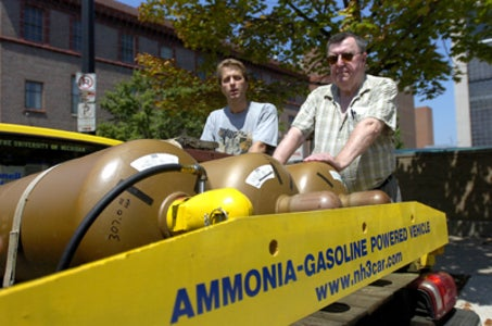 High school student's argument for ammonia-fueled cars is awesome