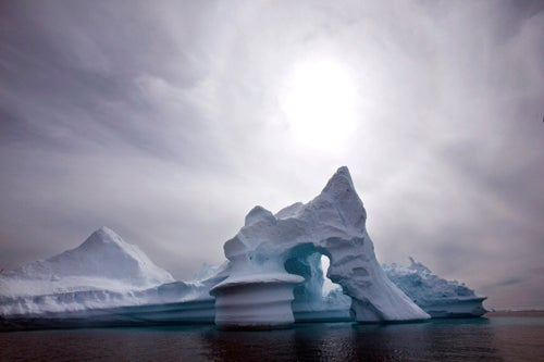 Sipping Iceberg Water Is 'Like Drinking Air'