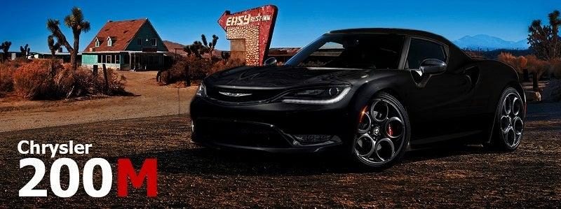 All-new Chrysler 200M