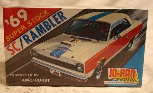 Model Hell Continues To Beckon: Vintage AMC SC/Rambler Kit In 1:25 Scale!