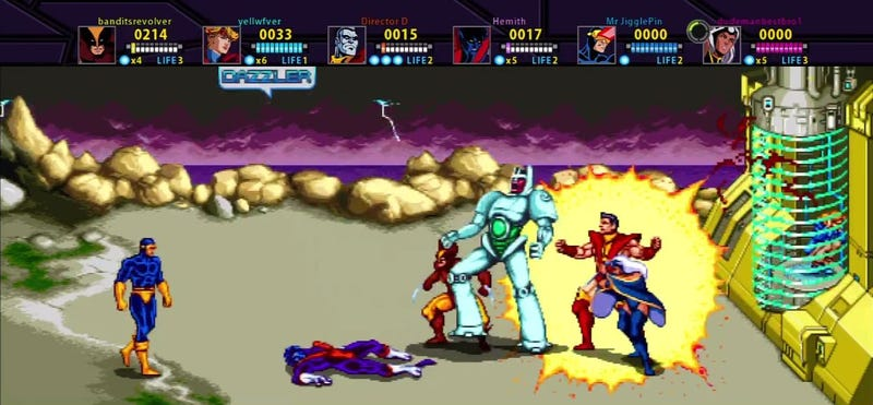 X-Men Screenshots