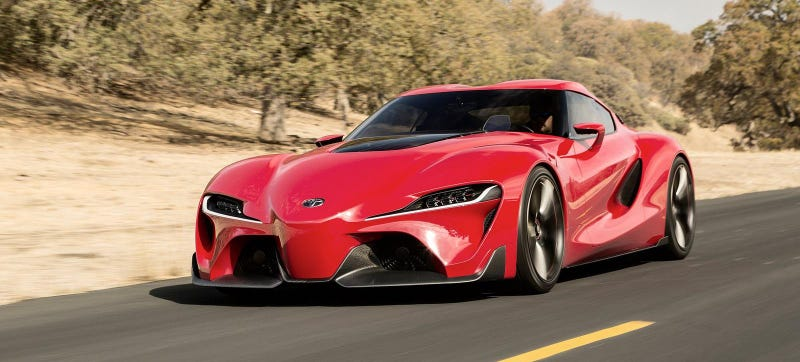 The Toyota Supra Is Back And It's Reportedly Part BMW