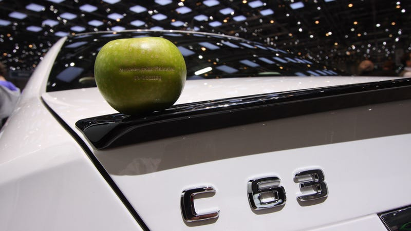 This Is A Mercedes-Benz Apple