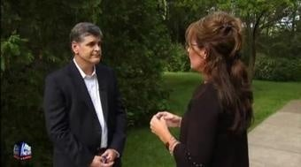 Sean Hannity Interviews Sarah Palin In the Woods