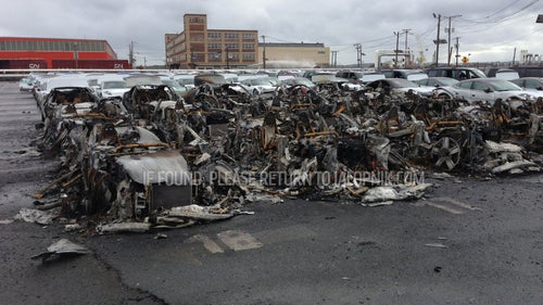 More Than A Dozen Fisker Karma Hybrids Caught Fire And Exploded In New Jersey Port After Sandy