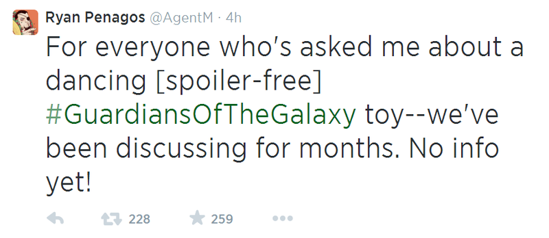 Adorable Guardians Of The Galaxy Toy Qualifies As A Spoiler
