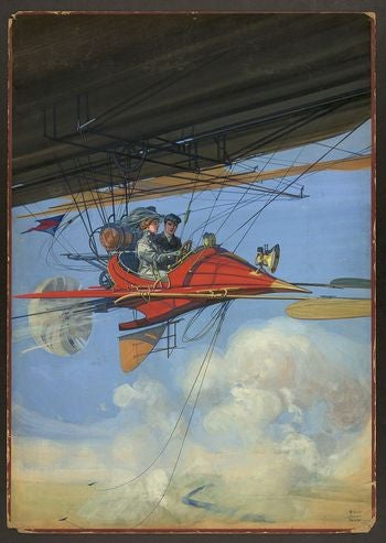 A Century-Old Flying Car