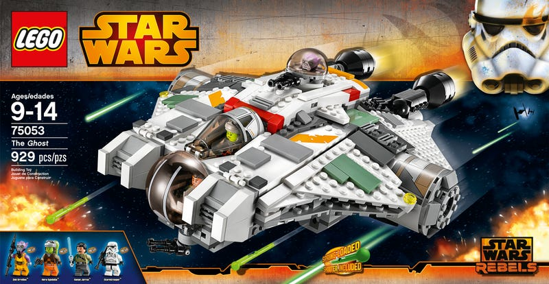 New Lego pictures show a little more of the cast of Star Wars Rebels
