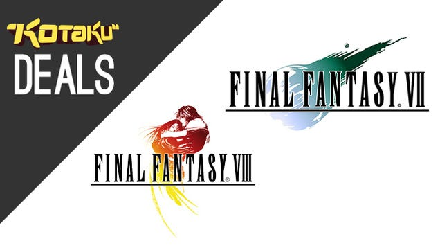 Final Fantasy VII and VIII, Pre-order Deals, New Humble Weekly [Deals]
