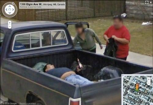 Google Street View Snaps Canada's Classiest Citizen