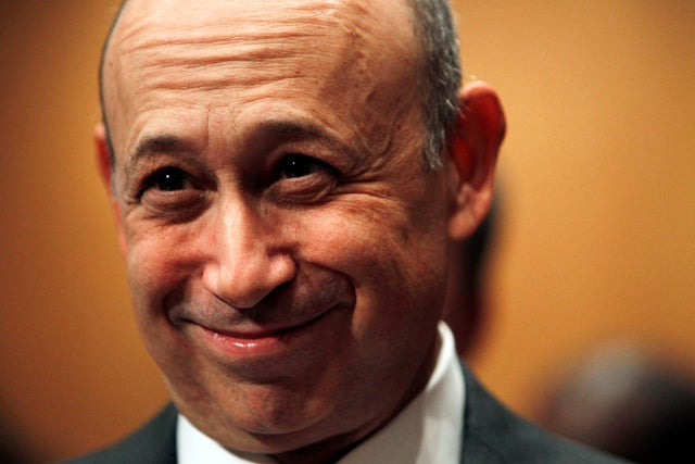 Lloyd Blankfein Made a Fortune Last Year