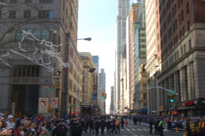 The Giants Parade, Through The Lens Of A Guy Who Got Kicked Out Of It
