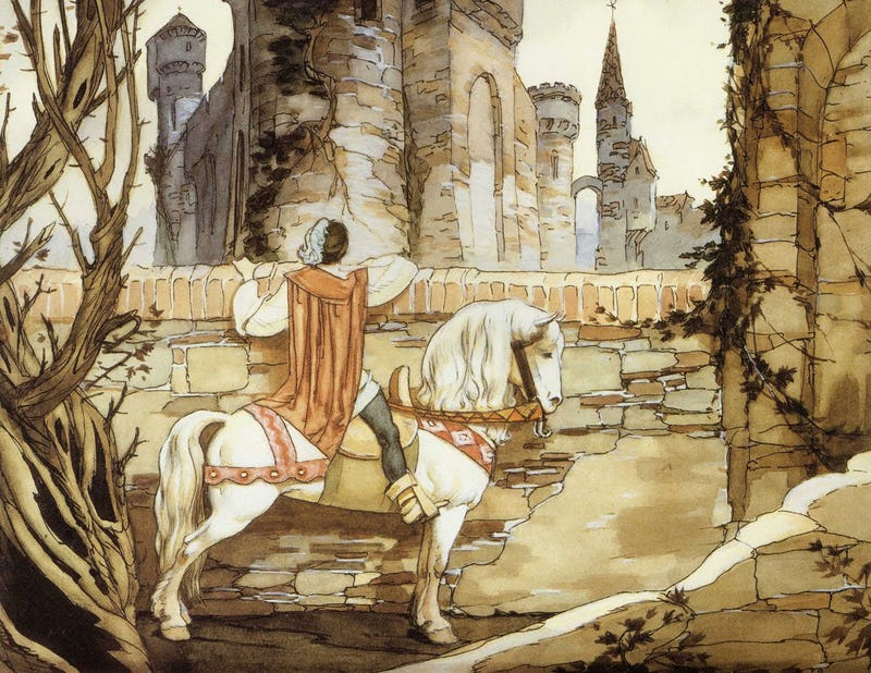 Concept art for 1937's Snow White is gorgeous in its own right