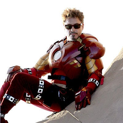 Tony Stark's On The Firing Line In First Iron Man 2 Footage!