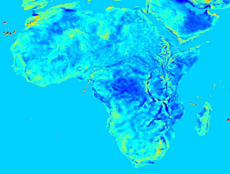 New high-res maps of Earth's surprisingly inconsistent gravity field
