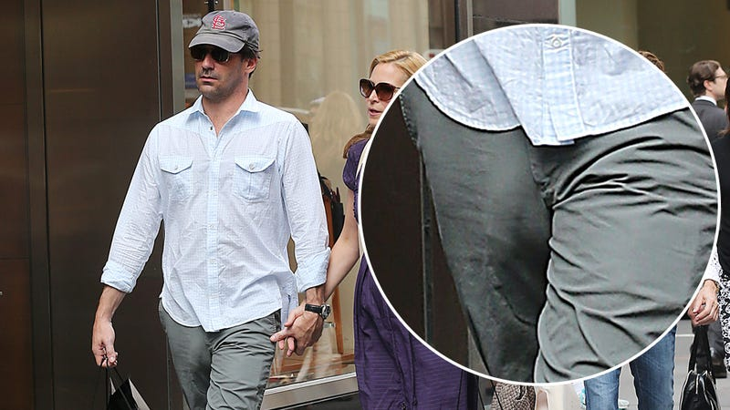 Jon Hamm's Penis Takes Its Owner Out for a Walk