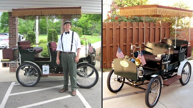 A Man Built a Car from 1906 Using Google Books