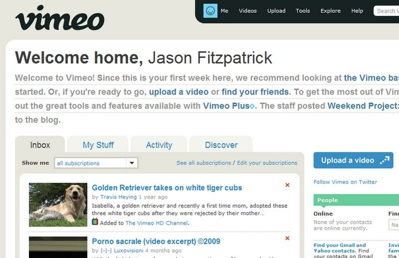 Five Best Video-Sharing Sites
