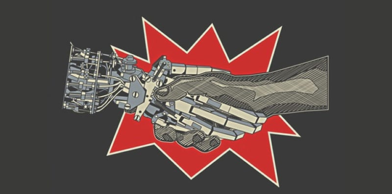 Peace Breaks Out Between Robots And Humans