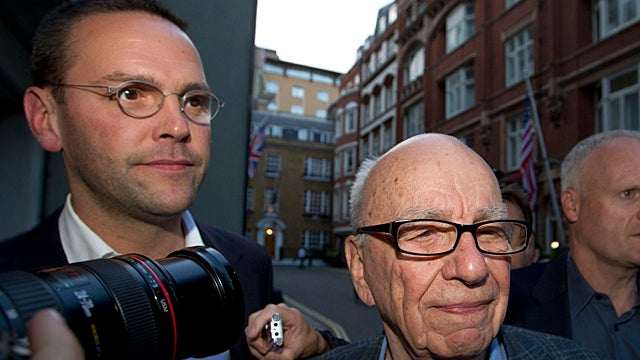 Err Apparent: Rupert Murdoch at Odds With His Horrible Spawn