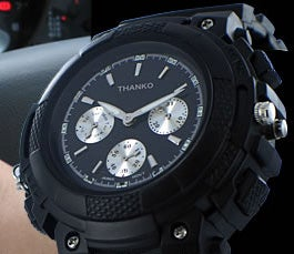 Thanko FMP3 Watch Transmits From Wrist to Radio