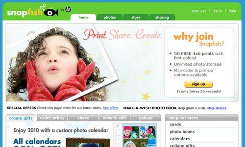 Five Best Photo-Printing Sites
