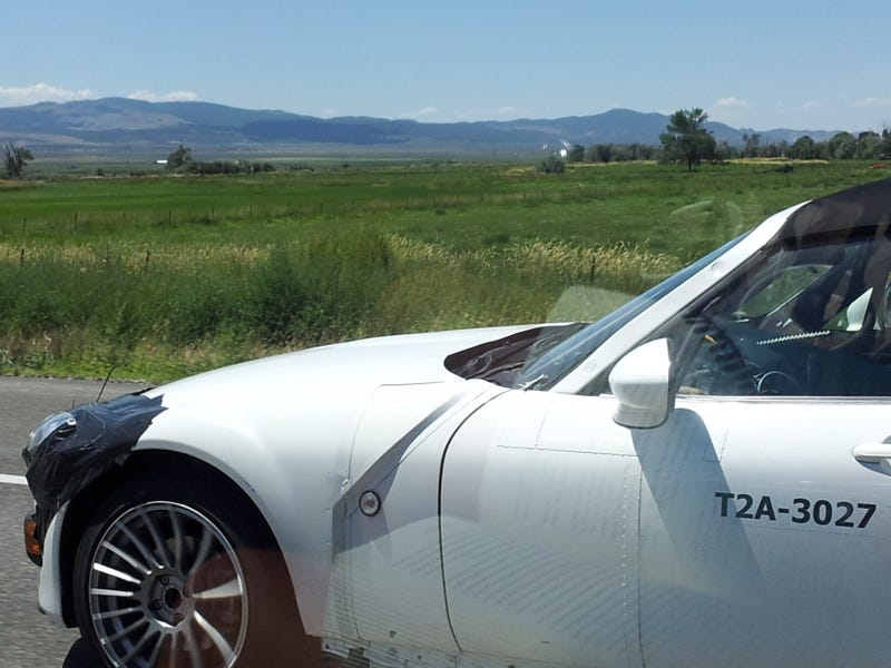 Possible Mazda Miata Test Mules Spotted in the Wild