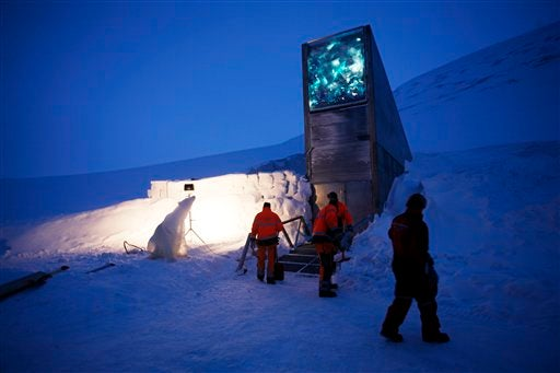 Norway Builds Giant Shelter For The End Of The World