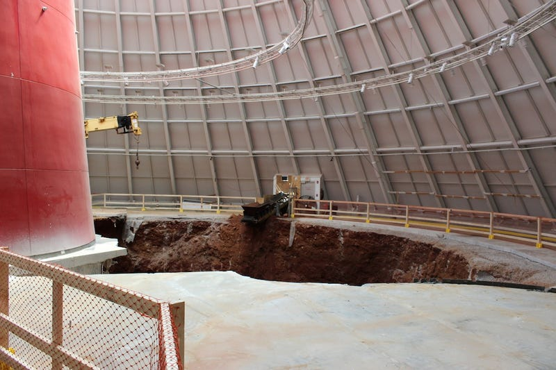 The National Corvette Museum Sinkhole Is Mesmerizing (And Real)