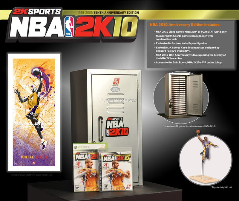 NBA 2K10 Collector's Edition Needs Shaq To Carry The Load