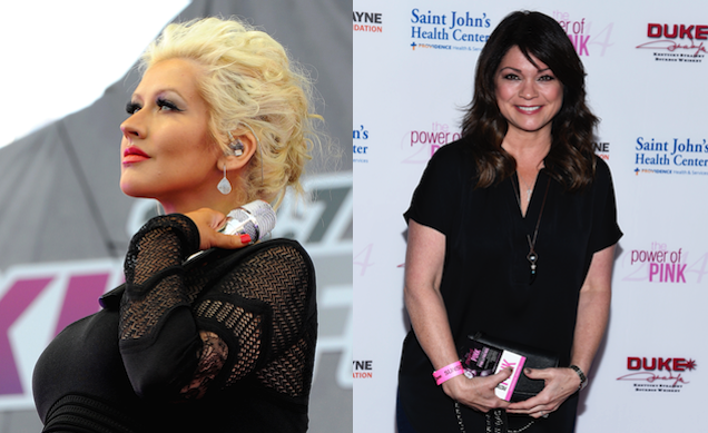 "​Feud: Did Christina Aguilera Say ""Whatever"" To Valerie Bertinelli?"