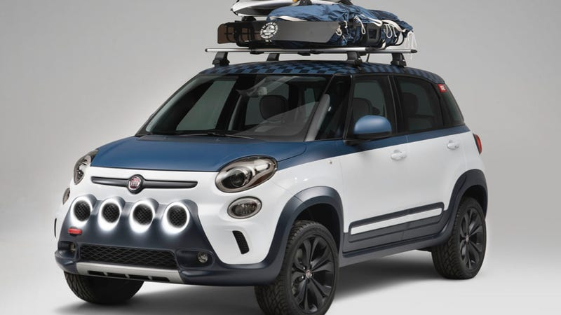 Fiat Dips Its Toes Into The Offroad Water With Fiat 500L Vans Concept