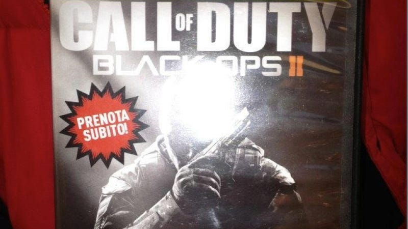 Photo Claims First Look at Call of Duty: Black Ops 2's Box Art, But Is It a Fake?