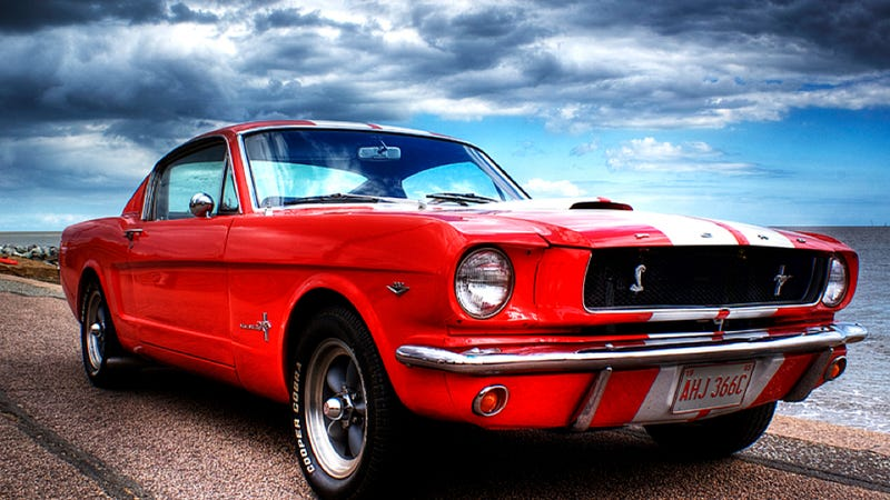Would You Drive This Patriotic Mustang To Canada?