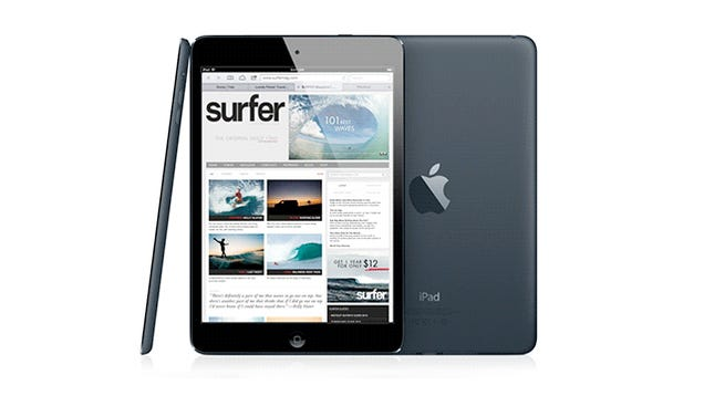 Apple Already Sold Out of the White iPad Mini