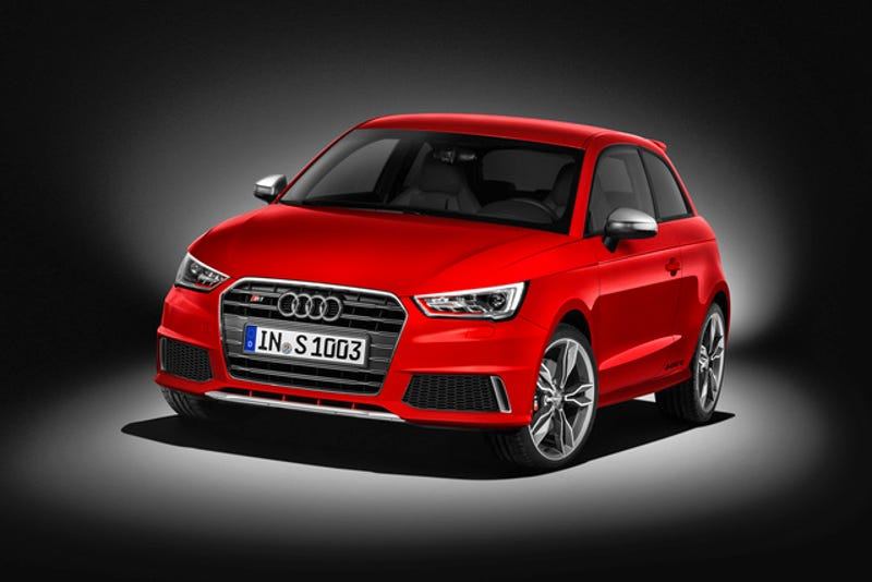 The 2015 Audi S1 Has 273 LB-FT And Will Scoot To 60 In 5.8 Seconds