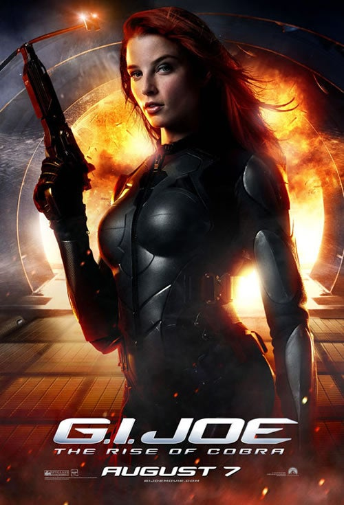 New G.I. Joe Poster Is An Adequate Substitute For The Movie. Plus Torchwood Mega-Spoilers!