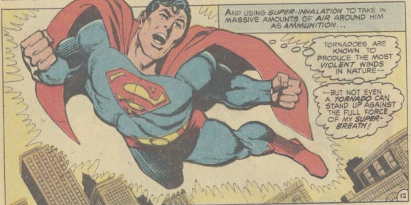 That stupid time Superman shilled computers for Radio Shack
