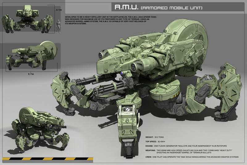 A StarCraft II Marine Won't Shoot Monsters This Pretty