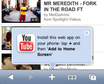 YouTube's New Mobile Web Site Is HTML5-Friendly, Higher Quality than iPhone's Native App