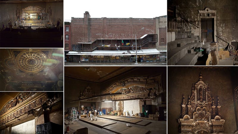 The Beautiful Decay of a Theater Hidden Above a New York Bodega