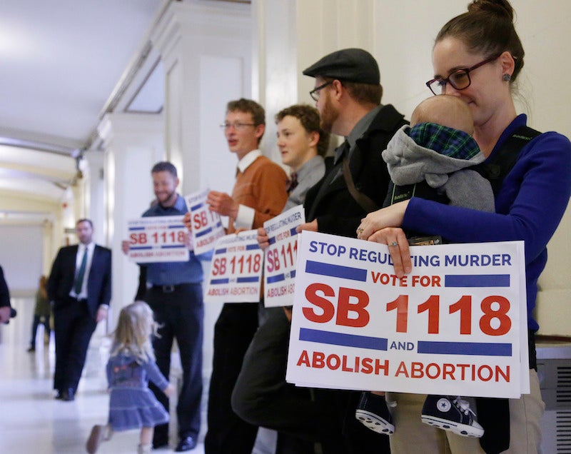 Oklahoma Legislators Just Voted to Make Abortion a Felony