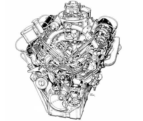 Engine Of The Day: BMW OHV V8