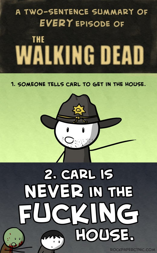 A Perfect 2-Sentence Summary of Every Episode of Walking Dead Season 2