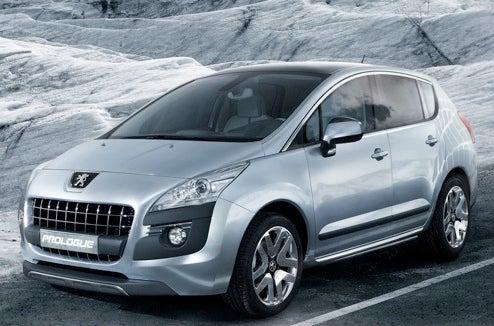 Peugeot Prologue Concept Coming To Paris, Interbreeding Several Universes