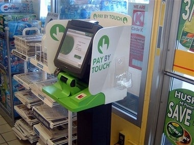 Pay by Touch System Tested by Gas Stations, Grocery Store
